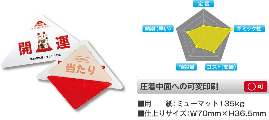 三角くじの特徴